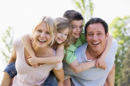 Un Comentario para familia feliz