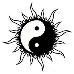 yin yang sun